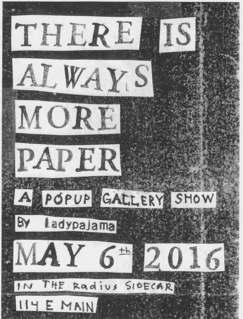 tiamp art show flyer